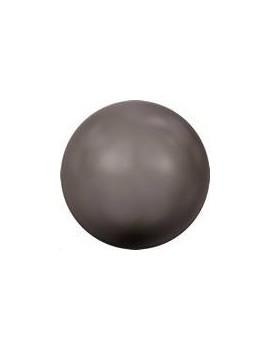Nacre ronde 6mm brown