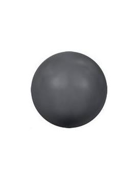 Nacre ronde 6mm dark grey