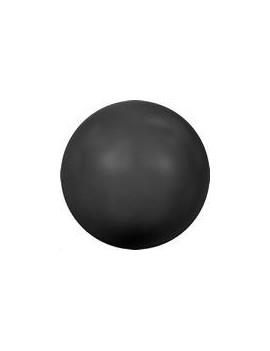 Nacre ronde 6mm mystic black