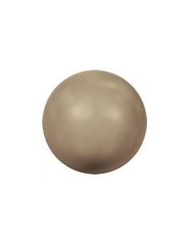 Nacre ronde 8mm bronze