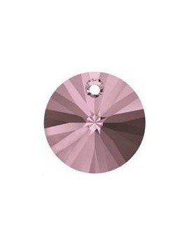 Pendentif 8mm cr antique pink