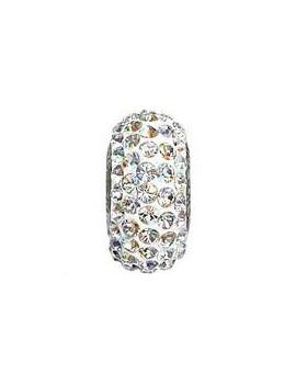 Perle Becharmed pavé 13.5 mm crystal AB