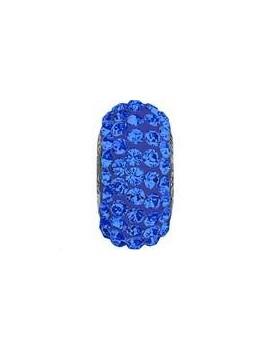 Perle Becharmed pavé 13.5mm sapphire