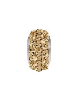 Perle Becharmed pavé 13mm crystal golden shadow