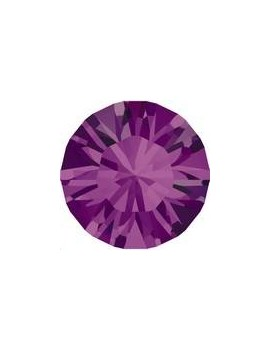 Strass SS45 10mm Amethyst foiled