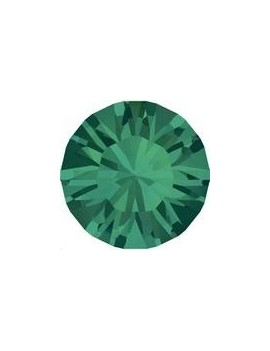 Strass SS45 10mm Emerald foiled