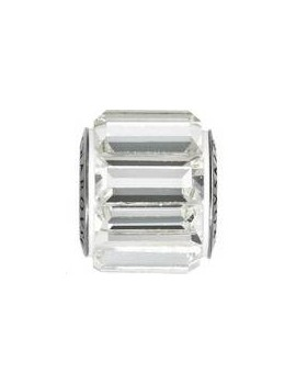 Be charmed pave / steel 10mm crystal