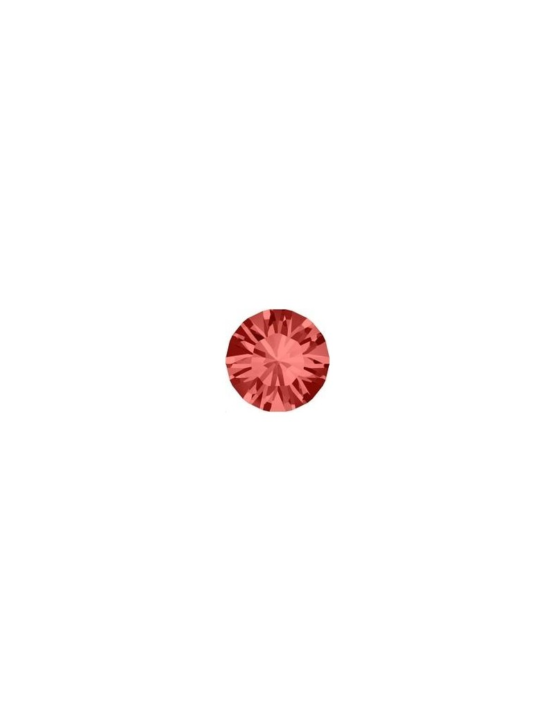 Lot 50 pièces strass plat à coller 1,8mm (SS5) padparadscha foiled