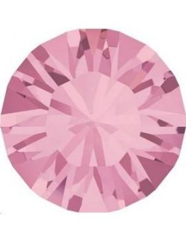 Lot 50 pièces strass plat à coller 2mm (SS6) light rose foiled