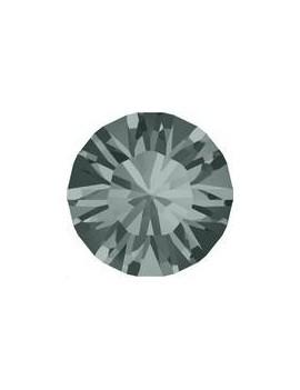 Lot 50 pièces strass plat à coller 2,8mm (SS10) black diamond foiled