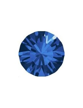Lot 50 pièces strass plat à coller 2,8mm (SS10) capri blue foiled