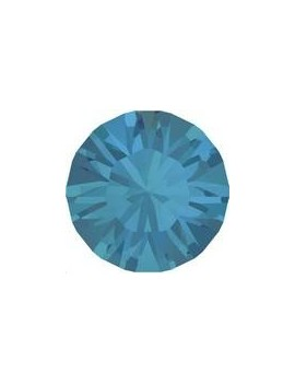 Lot 50 pièces strass plat à coller 3,2mm (SS12) caribbean blue opal foiled