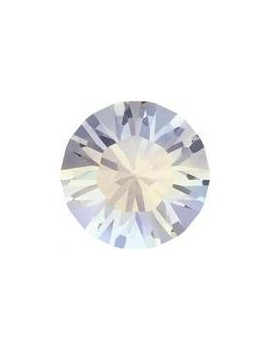 Lot 50 pièces strass plat à coller 3,2mm (SS12) white opal foiled