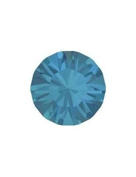 Lot 50 pièces strass plat à coller 4,8mm (SS20) caribbean blue opal foiled