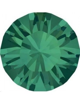 Lot 50 pièces strass plat à coller 4,8mm (SS20) emerald foiled