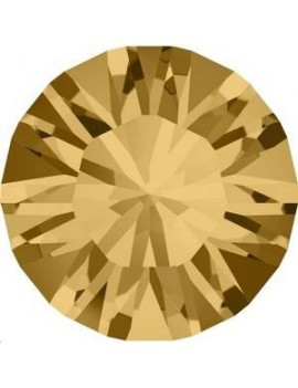 Lot 50 pièces strass plat à coller 4,8mm (SS20) light colorado topaz foiled