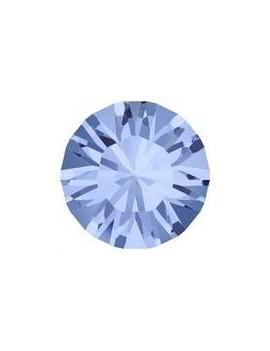 Lot 50 pièces strass plat à coller 4,8mm (SS20) light sapphire foiled