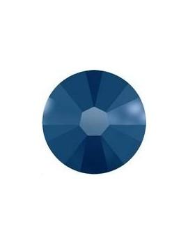 Lot 50 strass plats à coller 1,8mm Xilion rose (SS5) crystal metallic blue foiled