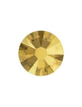 Lot 50 strass plats à coller 1,8mm Xilion rose (SS5) crystal metallic sunshine foiled