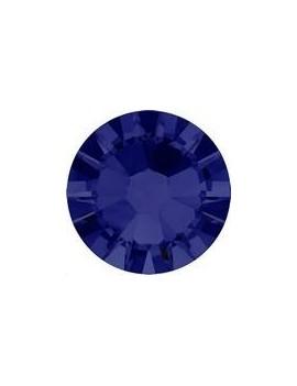 Lot 50 strass plats à coller 1,8mm Xilion rose (SS5) dark indigo foiled