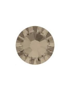 Lot 50 strass plats à coller 1,8mm Xilion rose (SS5) greige foiled
