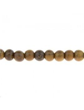 Bois agarwood rond 12mm lot de 1 pièce