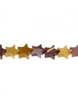 Assortiment Jaspe étoile 6x6x3mm