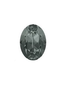 Cabochon 18X13mm Black diamond f