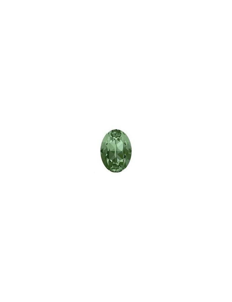 Cabochon oval 18X13mm Erinite foiled