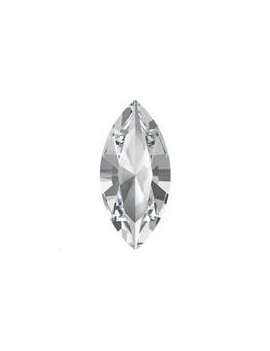 Navette 15X7 Crystal foiled