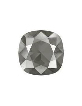 Cabochon carré 10mm crystal dark gr