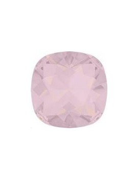 Cabochon carré 10mm rose water opal foiled