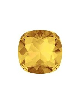 cabochon 12mm sunflower foiled