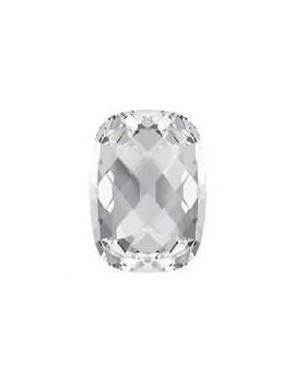 Cabochon rectange 14X10mm Crystal foiled