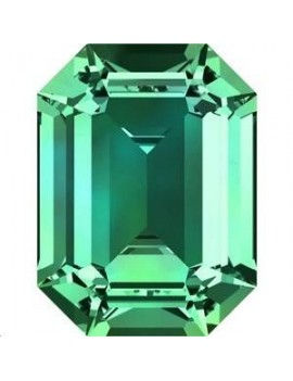 Rectangle 18X13mm Emerald foiled