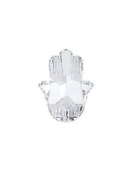 fatima hand 18x13,7mm crystal foiled