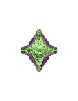 Cabochon Rhombus tribe 19x17mm peridot scarabaeus green Z foiled