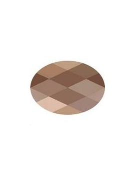 Perle ovale 14x10mm Cr rose gold