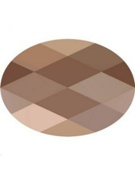 Perle ovale 14x10mm Crystal rose gold