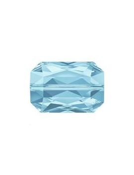 Emerald cut bead 14x9.5mm aquamarine
