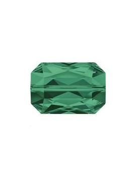 Emerald cut bead 14x9.5mm emerald