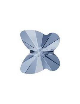 papillon 10mm denim blue