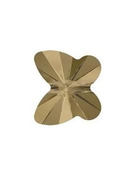 papillon 12mm crystal bronze shade