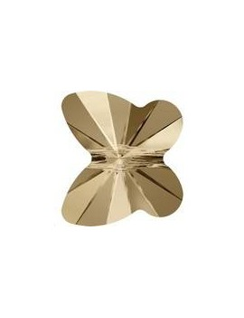 papillon 12mm Crystal golden shadow