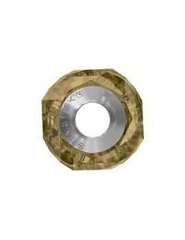 Becharmed Helix bead/Steel 14mm Crystal Bronze Shade