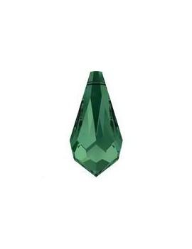 Goutte 11mm Emerald