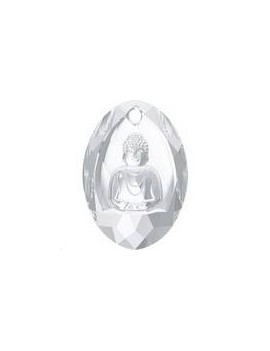 Buddha Pendant 28x19,8mm crystal