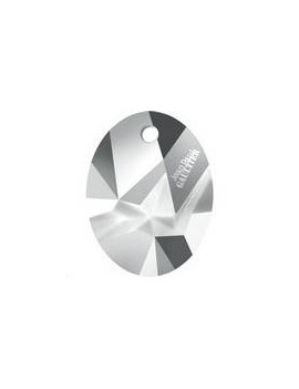 Kaputt oval pendant 26mm crystal light chrome Designer editionJean Paul Gaultier