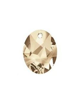 kaputt oval pendant 26mm cr golden shadow