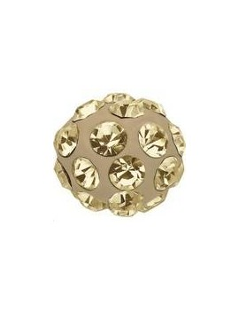 Pave ball 4mm cr golden shadow